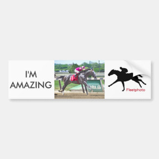 I'm Amazing & Eric Cancel Bumper Sticker