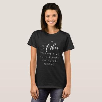 I'm Amber T-Shirt