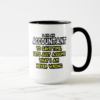 I'M AN ACCOUNTANT, TO SAVE TIME, LET'S ASSUME... MUG