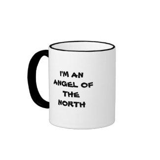 I'M AN ANGEL OF THE NORTH RINGER COFFEE MUG