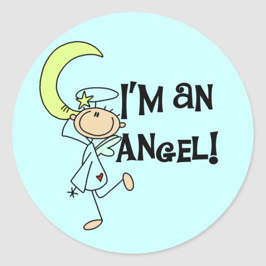 I'm an Angel Stickers