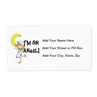 I'm an Angel T-shirts and Gifts Shipping Label