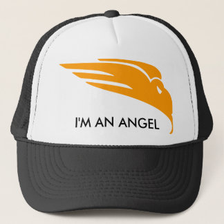 I'M AN ANGEL TRUCKER HAT