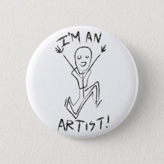 I'm an Artist! Button