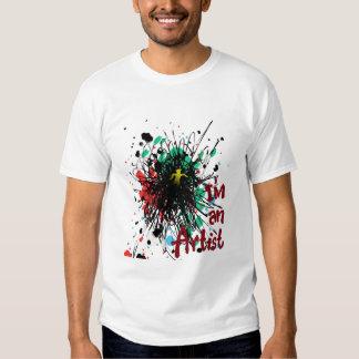 im an artist tee shirt
