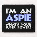 I'm An Aspie Mouse Pad