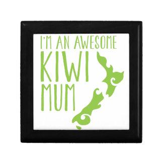 I'm an awesome KIWI MUM New Zealand Trinket Box