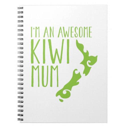 I'm an awesome KIWI MUM New Zealand Note Book