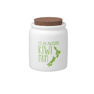 I'm an awesome KIWI MUM New Zealand Candy Jar
