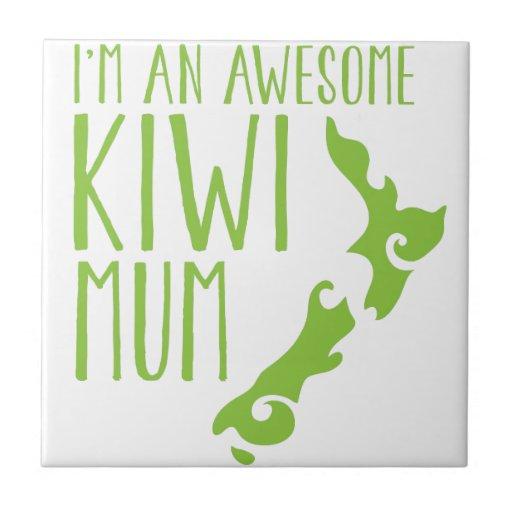 I'm an awesome KIWI MUM New Zealand Ceramic Tiles