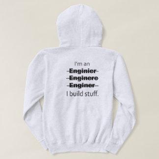 I'm an Engineer Hoodie (back)