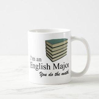 I'm an English Major you do the math. Coffee Mug