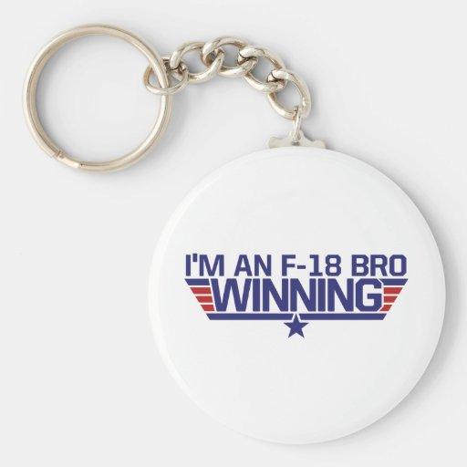 I'm an f-18 Bro Keychains