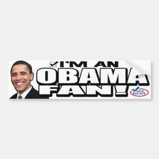 I'm an Obama Fan! Bumper Sticker