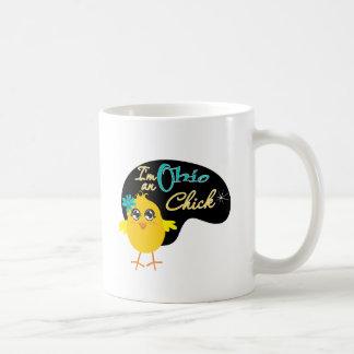 I'm an Ohio Chick Basic White Mug