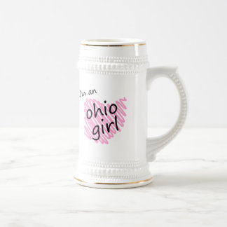 I'm an Ohio Girl Beer Steins