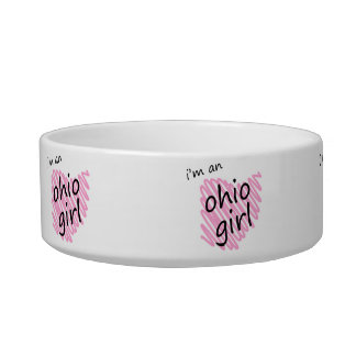 I'm an Ohio Girl Pet Bowls