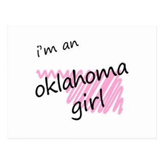 I'm an Oklahoma Girl Postcard