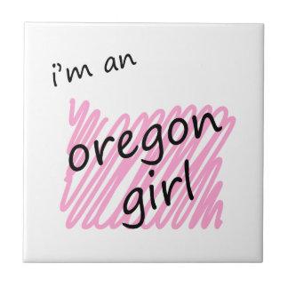 I'm an Oregon Girl Tile