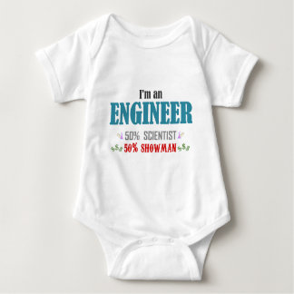 I'm an to engineer baby bodysuit