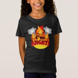 I'm Angry! Girls dark T-shirt
