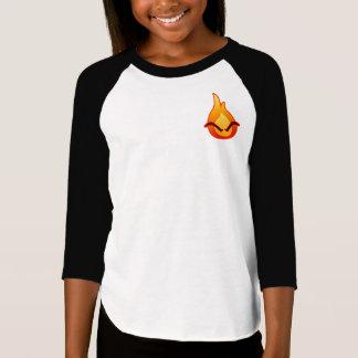 I'm Angry! Girls Raglan T-shirt
