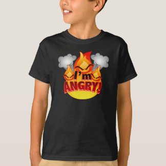 I'm Angry! Kids dark T-shirt