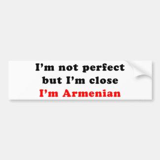 I'm Armenian Bumper Sticker