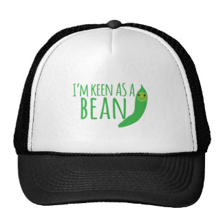 I'm as keen as a bean with cute kawaii beanie cap