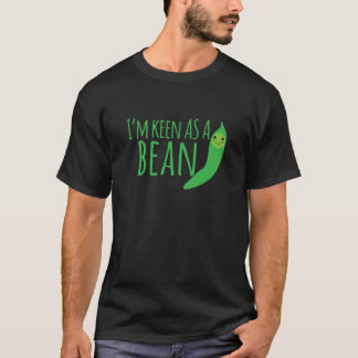 I'm as keen as a bean with cute kawaii beanie T-Shirt