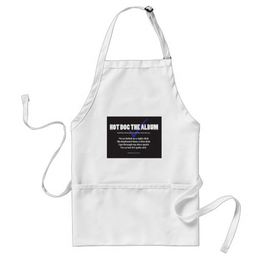 I'm as lethal as a right click aprons