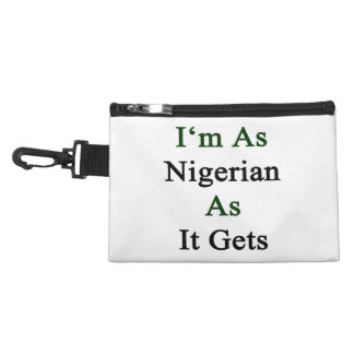 I'm As Nigerian As It Gets Accessories Bags