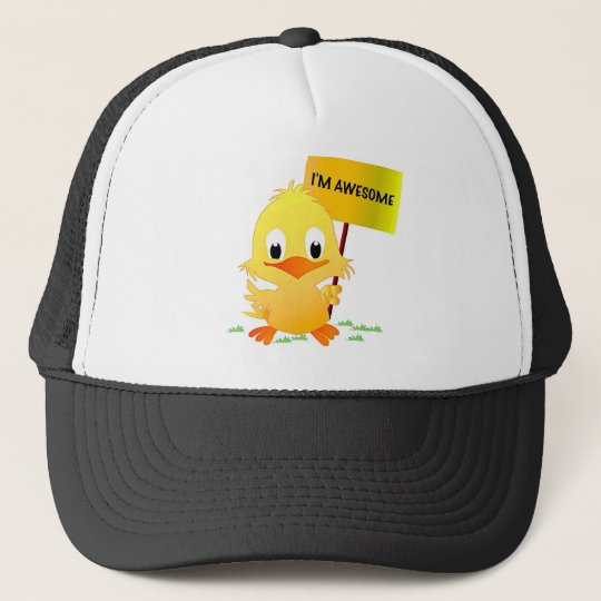 I'm Awesome Chick Cap
