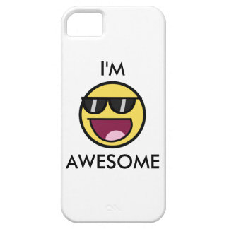 I'm awesome iphone wraps iPhone 5 cover