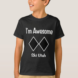 I'm Awesome Ski Utah T-Shirt