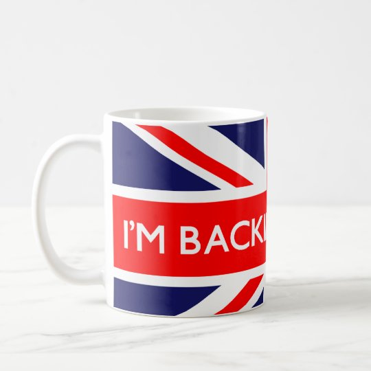 I'm Backing Britain on British Flag Coffee Mug