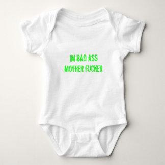 im bad ass mother fucker baby bodysuit