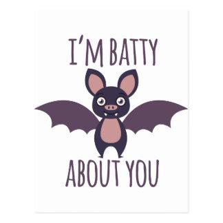 Im Batty Postcard