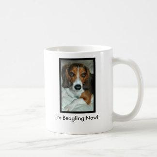 I'm Beagling Now! Basic White Mug