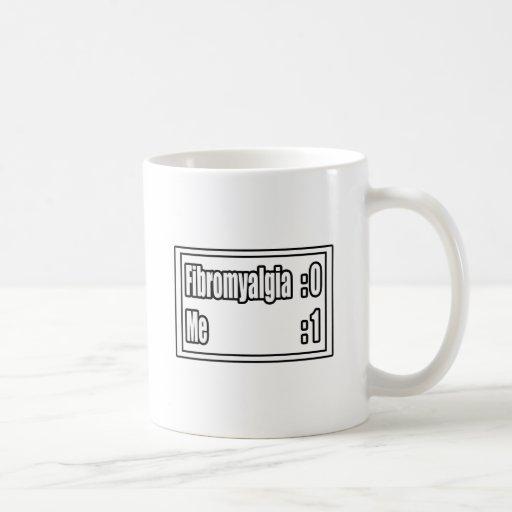 I'm Beating Fibromyalgia (Scoreboard) Coffee Mug