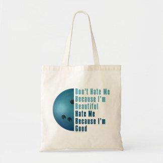 Im Beautiful Im Good  Bowling Blue Tote Bag