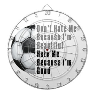 Im Beautiful Im Good Soccer Ball Dart Boards