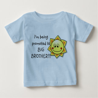 I'm Being Promoted to Big Brother  Infant Tshirt