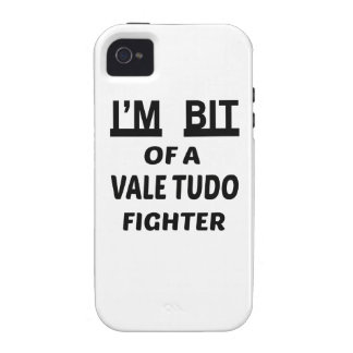 I'm bit of a Vale Tudo fighter iPhone 4 Cases
