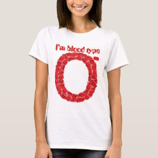 I'm blood type O negative T-Shirt