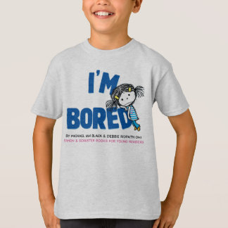 I'M BORED Kids' T-shirt, Bored Potato Back T-Shirt