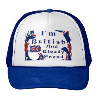 I'm British And Bloody Proud Mesh Hat