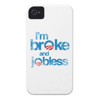 I'm broke and jobless Faded.png Case-Mate iPhone 4 Cases