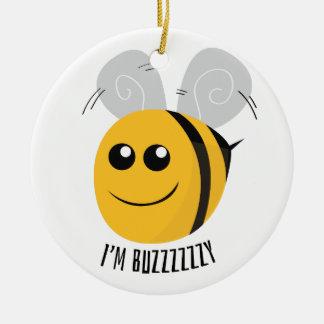 I'm Buzzzy Christmas Ornament