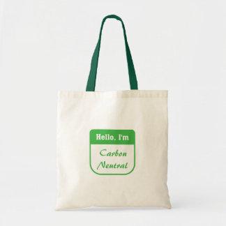 I'm carbon neutral bag